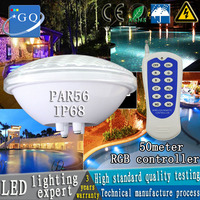 12v par56 LED swimming pool light 24w 36w AC/DC underwater lights fountain pond outdoor waterproof white/warm white/rgb lightin