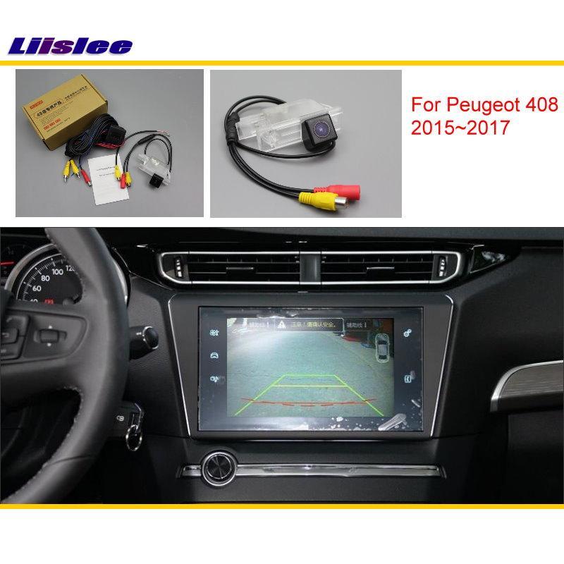 Liislee For Peugeot 408 2015 ~ 2017 բնօրինակ էկրանին - Ավտոմեքենաների էլեկտրոնիկա - Լուսանկար 1