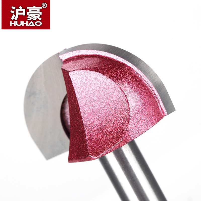 Image 5 - HUHAO 1pcs 8mm Shank round Router Bits for wood cove box bit Tungsten Carbide Woodworking endmill miiling cutter-in Milling Cutter from Tools
