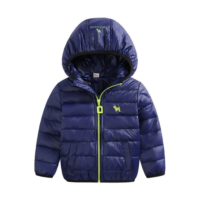 Duck down boys/Girls jacket 2016 new fashion ultra light children down coat children down & parkas candy color duck down jacket
