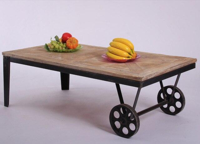 Mobili in stile americano rustico/vintage/solido legno/tavolino ...