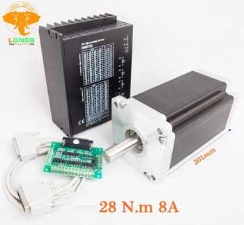Free shipping to EU Stepper Motor Nema 42 4210 oz.in 8A 42HS6480&Stepper driver DM2722A 9.8A&DB25 Board CNC kit 3 to 7 days - DISCOUNT ITEM  10% OFF All Category