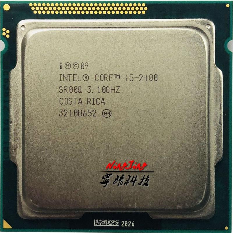 Intel Core i5 2400 i5 2400 3 1 GHz Quad Core CPU Processor 6M 95W LGA