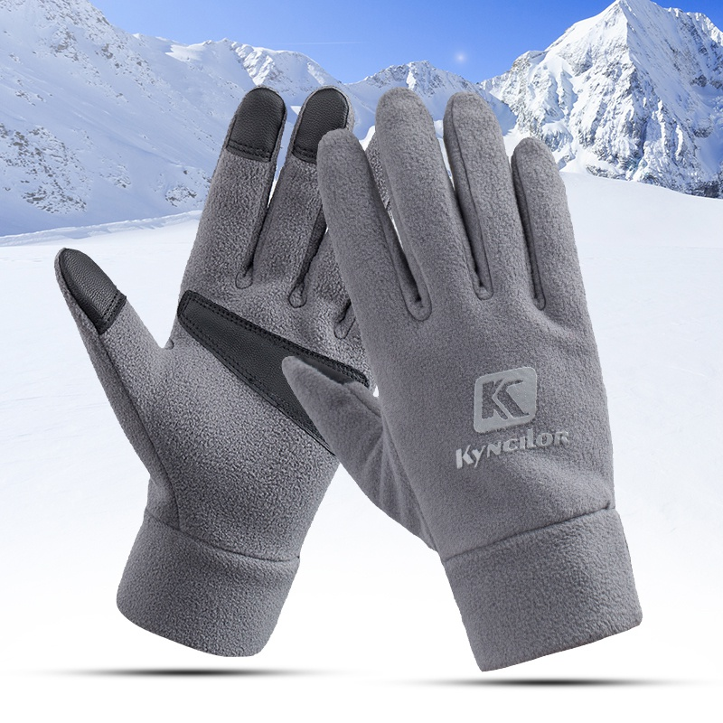 Sport Waterproof Fleece Men Women Ski Gloves Wind-proof Thermal Touch Screen Outdoor Cycling Snowboard Gloves