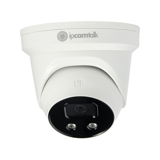 IPCamTalk IP Camera 2 MP Starlight IR Fixed Turret Network Camera IPCT-HDW5231RE-I Powered by Night Eye,free DHL shipping