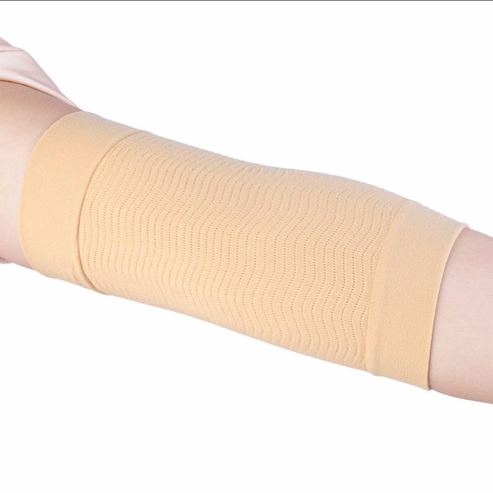 84a54db1fe 1 Pair Thin Forearms Hands Shaper Burn Fat Belt Compression Arm Slimming  Stovepipe 23 27cm adjustable-in Slimming Product from Beauty & Health on ...
