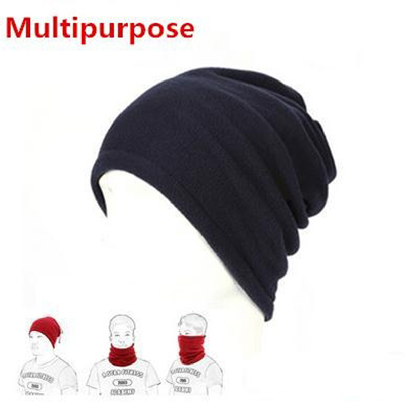 1 Pc 3 In1 Winter Unisex Frauen Männer Sport Thermische Fleece Schal Neck Warmer Gesicht Maske Beanie Hüte Nq874630