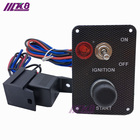 Car Electronics Racing Switch Kit /Switch Panels-Flip-up Start/Ignition/Accessory For BMW E30 M20 325 325i K8-3023