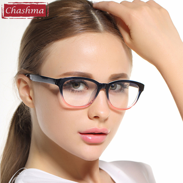 Chashma Simple Design Eyewear Women and Men Eye Glasses Frames TR 90 Quality Glasses Frame for Female and Male