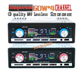 2015 New Arrival 12V Car Radio FM MP3 Player with USB SD slot supports Play MP3  WMA  WAV forma music remote control 1 DIN