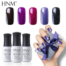 HNM Stamping Paint Nail Polish 8ml Gorgeous Color Paint Gellak Hybrid Varnish Nagellak Semi Permanent Top Base Primer Enamel