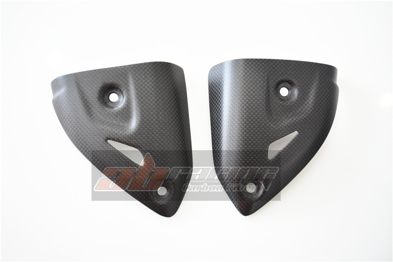 Exhaust Heat Shield Cover  For Ducati 1199 /S 1299 959 899 Superbike  Full Carbon Fiber 100% Exhaust Heat Shield Cover  For Ducati 1199 /S 1299 959 899 Superbike  Full Carbon Fiber 100%