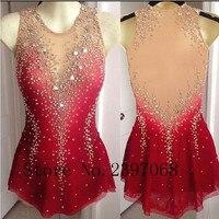 Фигурное катание Платья для женщин Красный Обувь для девочек Катание на коньках платье дорого Катание на коньках одежда Для женщин конкурс