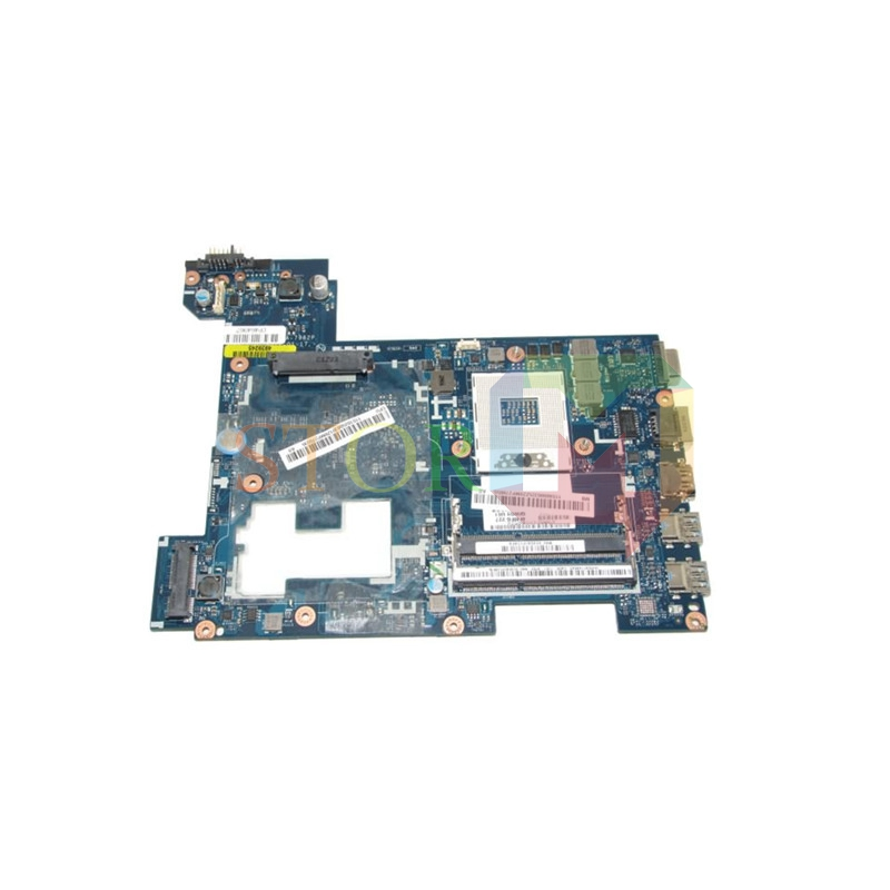 NOKOTION Main board for lenovo ideapad g580 laptop motherboard LA-7982P 90001175 hm76 gma hd4000 ddr3 la 5972p for lenovo ideapad g555 laptop motherboard ddr2 free shipping 100% test ok