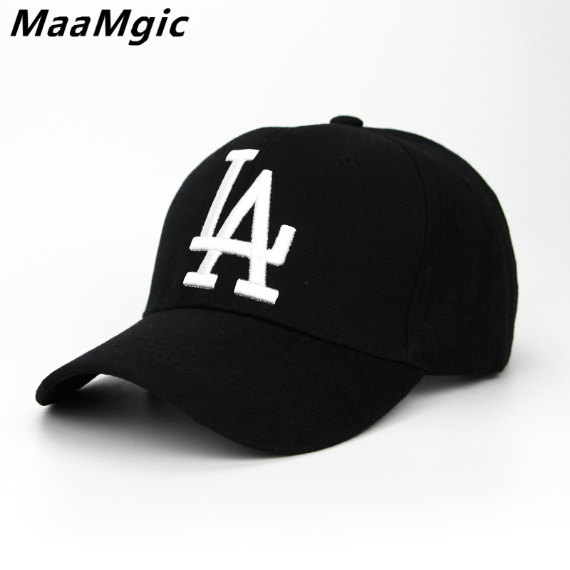 2018 New letter Baseball Caps LA Dodgers Embroidery Hip Hop bone Snapback Hats for Men Women Adjustable Gorras Casquette Unisex baseball cap casquette 2015 brand hip hop gorras planas snapback caps embroidery adjustable casual men bone snap back for women