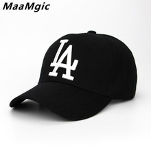 6c19bd989d6 2018 New letter Baseball Caps LA Dodgers Embroidery Hip Hop bone Snapback  Hats for Men Women Adjustable Gorras Casquette Unisex