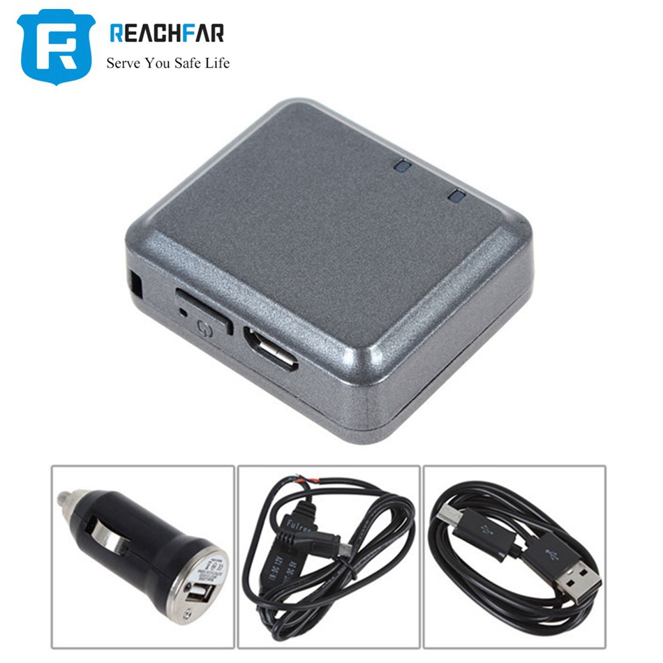 REACHFAR Mini Kids for GPS Tracker RF-V8 Tracker for Car Vehicle Personal Tracking Device Anti-theft Alarm for GPS Locator V8 bd02gps double locator tracker car chase battery electric vehicle anti