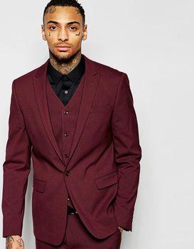 2016 Hot Sales Elegant Men Suits 3pieces Gentlemen Style Best Men Tuxedos Slim Bridegroom Wedding Wear (Jacket+Pants+Vest+Tie)