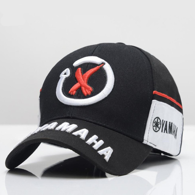 df5b33b28578f1 New Black Red F1 racing cap Car Motocycle Racing MOTO GP VR 99 rossi  Embroidery hiphop cotton trucker Yamaha Baseball Cap Hat