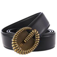 Men Belt Genuine Leather Automatic Buckle Luxury Cowskin Male Belts Black Waist Strap G Designer Fashion Mens Belts