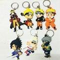 Naruto figura de ação brinquedos keychain 2016 Novo Anime Japonês Naruto uzumaki naruto sasuke akatsuki madara figuras Coleção toy