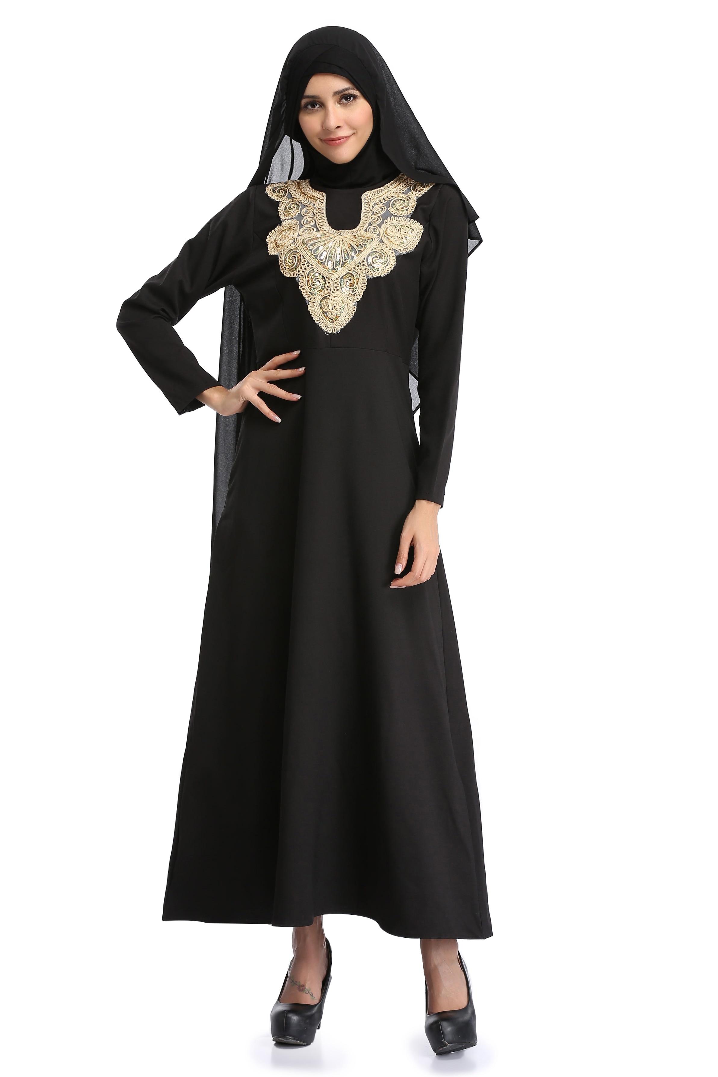 Национальное мусульманское платье