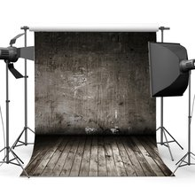 Grunge Blurry Wallpaper Backdrop Solid Color Nostalgia Wood Floor Backdrops Shabby Stripes Wooden Background