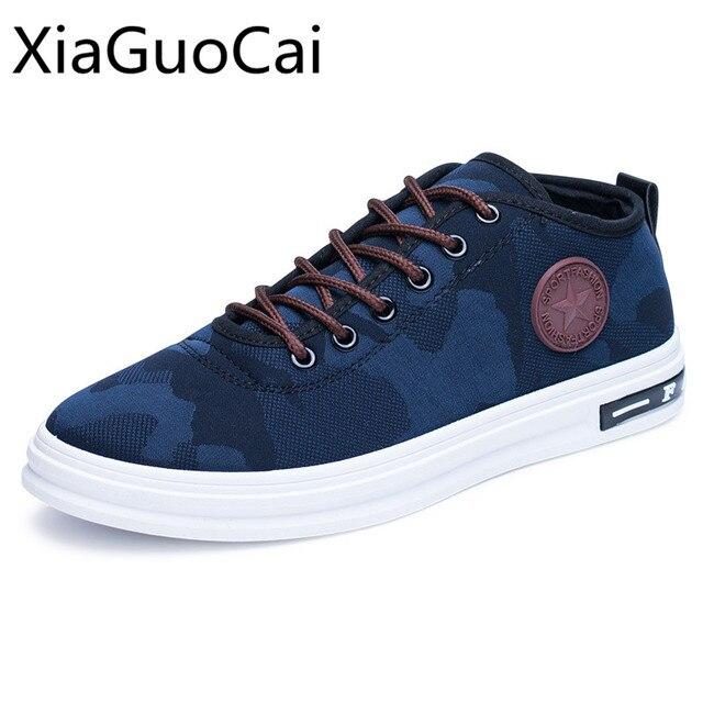 e41bc17618eab Venta caliente transpirable hombres zapatos Casual Low Top Sneakers  masculinos cordón resistente cuero de la Pu