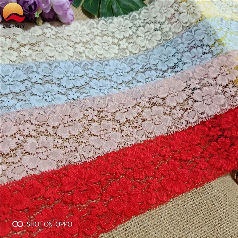 6 см S1103 эластичная атласная кружевная лента для пошив одежды «сделай сам» края и украшения ручной работы|Кружево|   | АлиЭкспресс