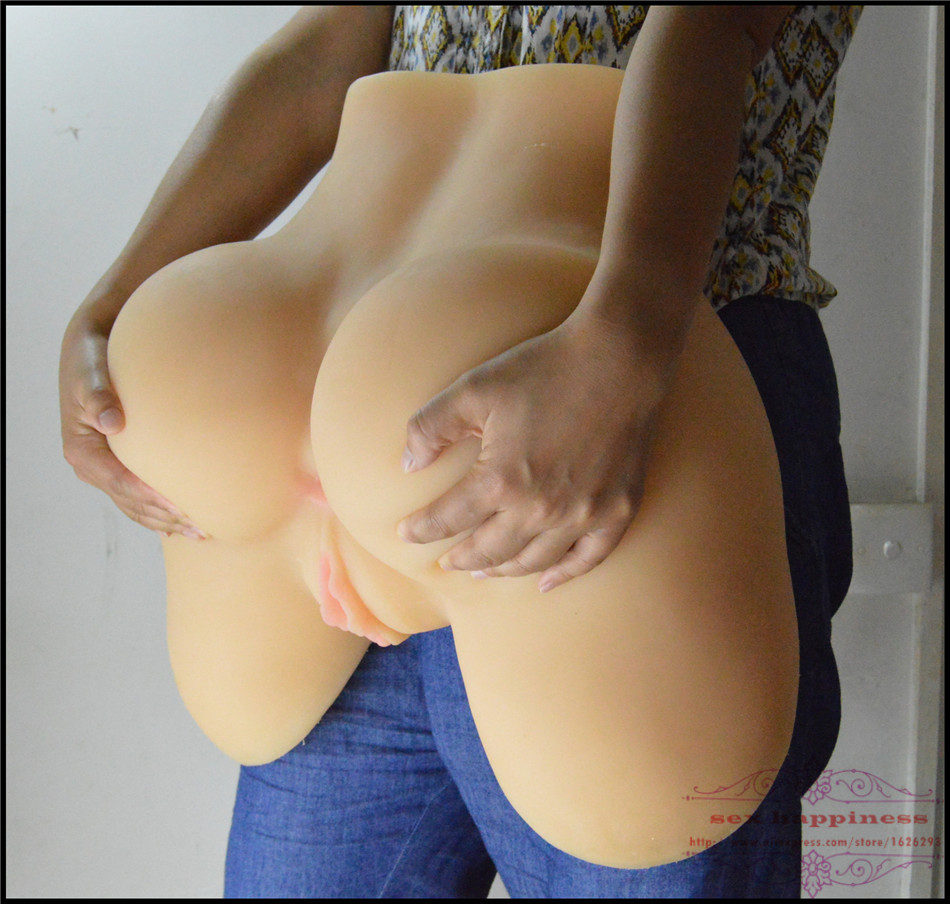Full size pussy and ass sex toy