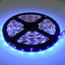 Супер яркий 5 м светодиодный полосы света DC12V 5050 300 светодиодный s фиолетовый Водонепроницаемый IP20/Водонепроницаемый ip65 кран со светодиодами ленточная Гирлянда Свет