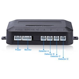 Image 4 - باركترونك مستشعر وقوف السيارات LED ، مع 4 مستشعرات احتياطية ، رادار وقوف السيارات العكسي ، نظام الكشف ، شاشة الإضاءة الخلفية