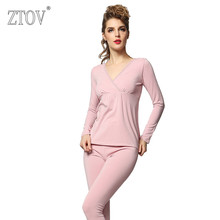 ZTOV Modal Maternity Nursing Pajamas Set Breastfeeding Clothes Pregnancy Sleepwear Sleep Lounge clothing for Pregnant Women(China)