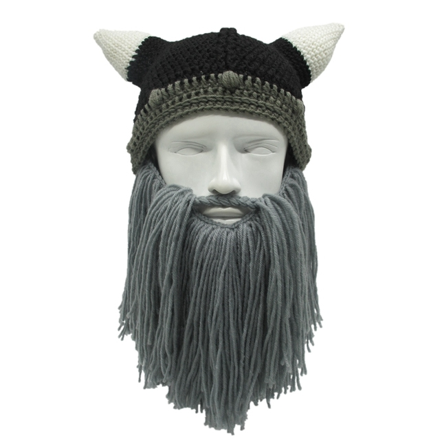 Los hombres/de las mujeres del invierno del ganchillo de Viking ...