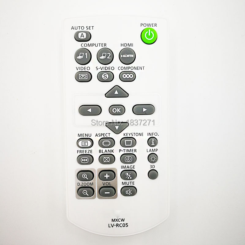 New original remote control LV-RC05 for canon LV-8235UST LV-7490 LV-8225 LV-7290 LV-7295 LV-7390 projectors compatible bare bulb lv lp35 5323b001 for canon lv 7290 lv 7295 lv 7390 lv 8225 projector lamp bulb without housing