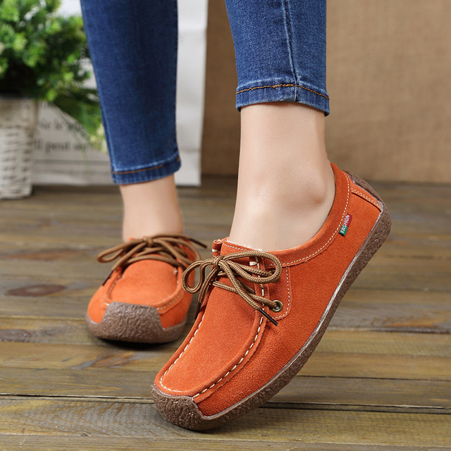 Women Flats Comfortable Summer Loafers Women Shoes  5
