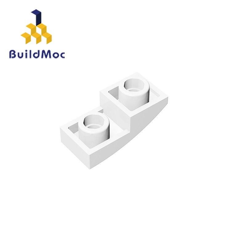 BuildMOC Compatible Assembles Particles 24201 1x2 For Building Blocks DIY LOGO Educational High-Tech Spare Toys