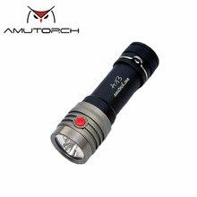 Amutorch AX3 2x XP-L HD 2500LM EDC 18650 светодиодный фонарик для использования вне помещения миниатюрный фонарь