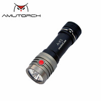 Amutorch AX3 2x XP L HD 2500LM EDC 18650 LED Flashlight Outdoor Mini Torch