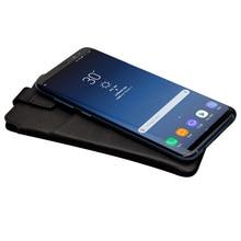 Qialino 삼성 s8 + ultrathin 소프트 브랜드 커버 지갑에 대 한 삼성 s8 플러스 커버에 대 한 럭셔리 정품 가죽 지갑 전화 가방 케이스