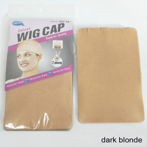 Image 5 - 60PCS(30Packs) Wig Caps For Making Wigs Stocking Wig Cap Snood Nylon Stretch Mesh Net 2Pcs/Pack In 7 Colors Weaving Cap