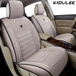 KADULEE flax car seat cover for prado 150 120 prius 20 30 rav4 recaro renault camry 40 50 Auto accessories car-styling car seats