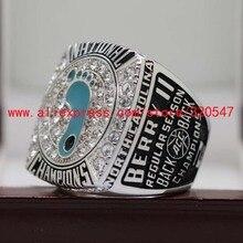 Official 2017 University Of North Carolina Tar Heels National Basketball Championship Ring 8 14Size MVP Joel