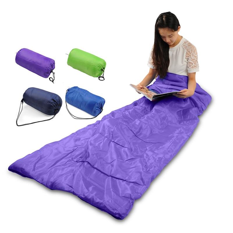 Aliexpress Buy HimanJie Multifuntion Outdoor Camping Hiking Garden Thermal Sleeping Bag Winter Envelope Bags Travel Sleep 4 Colors From