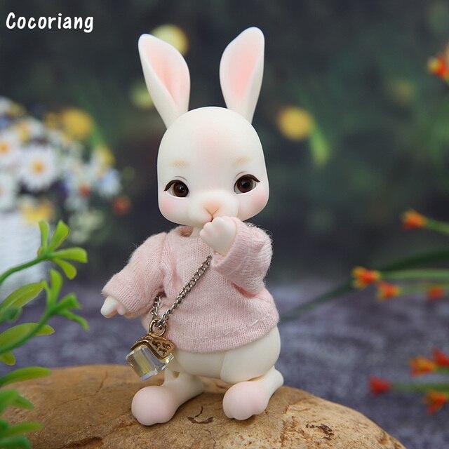 בגדי BJD 1/12 רק עבור Cocoriang Tobi ורוד T חולצה מתוק חיות מחמד הלבשה YF12 383
