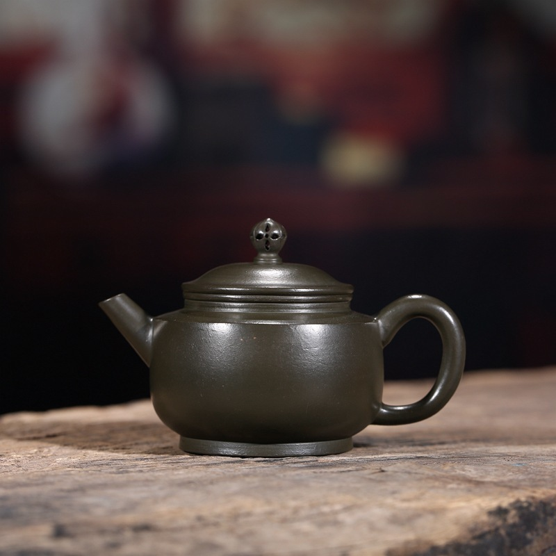 Sand Pot Famous Artisans Hand-made Raw Mine Green Mud Wang Town School Teapot Essentials Teapot Agent One SubstituteSand Pot Famous Artisans Hand-made Raw Mine Green Mud Wang Town School Teapot Essentials Teapot Agent One Substitute