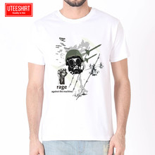 Men Rage Against The Machine Women Harajuku Short Sleeves T shirt Unisex Skateboard Tshirt Clothes Streewear