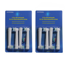 80PCS(4PCS/SET 20SET/LOT) For Braun Oral B Electric Tooth brush Heads Replacement Vitality Precision
