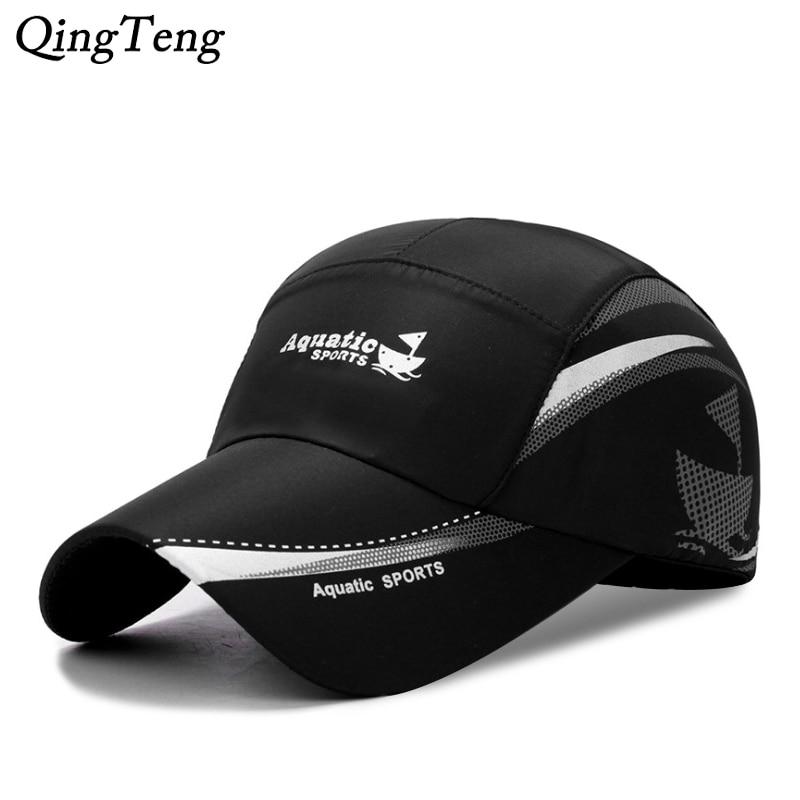2020 New Summer Quick Dry Breathable Baseball Cap Men Snapback Women Sun Hat Bone Masculino Trucker Cap