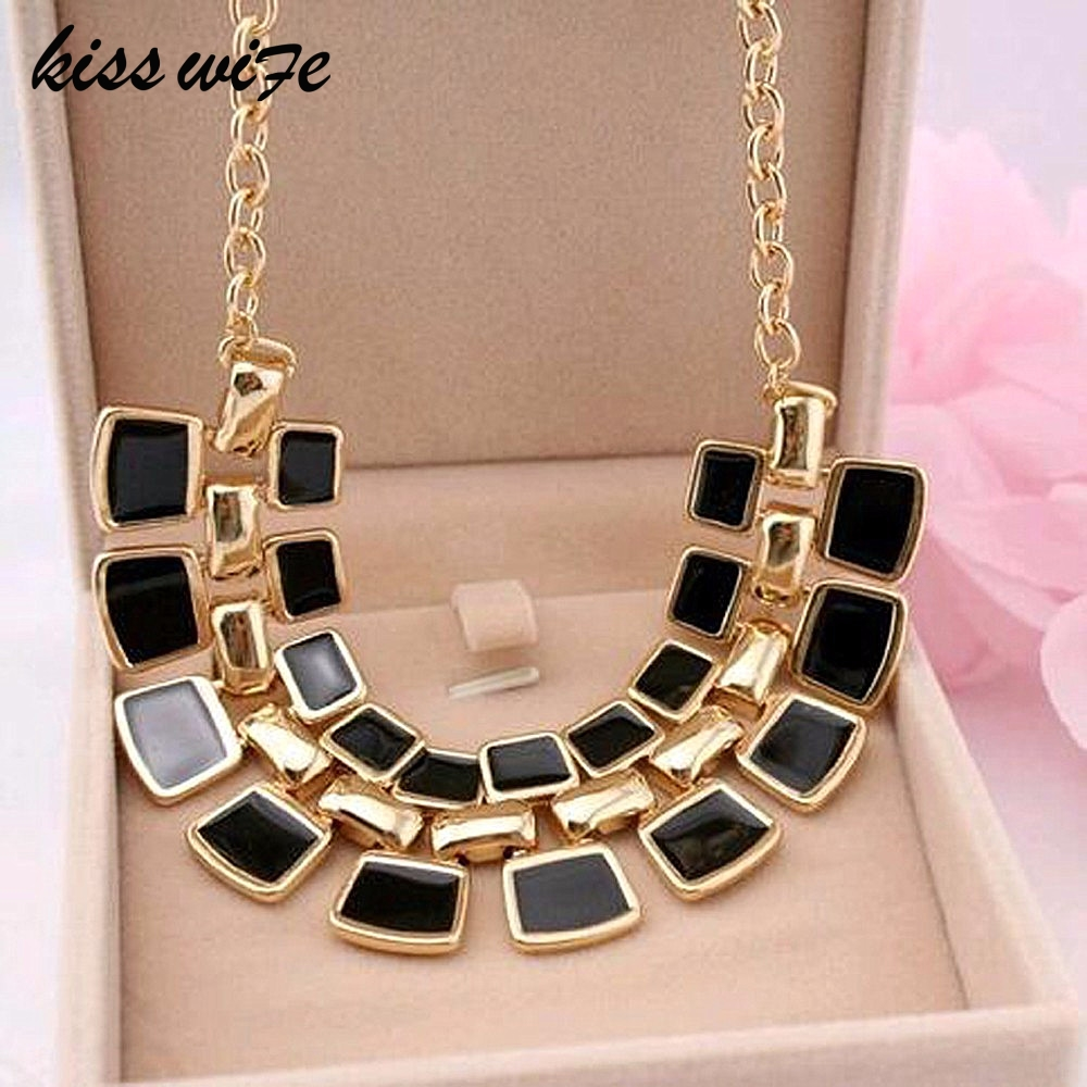 KISS WIFE 2016 Trendy Necklaces Pendants Link Chain Collar Ls